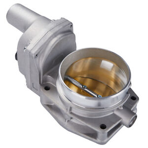 90mm Throttle Body With Actuator For Chevy Gm Gold Ls3 Ls7 L99 Corvette Camaro