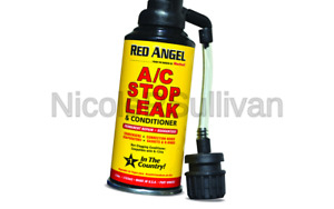 Red Angel A c Stop Leak Conditioner