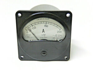 Russian Military Vintage Ammeter E8021 0 200a From 1980 s