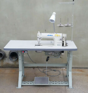 Juki Industrial Sewing Machine Ddl 8300n With Table And Stand 4