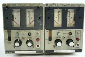 Kepco Ate 6 10m Power Supply lot Of 2