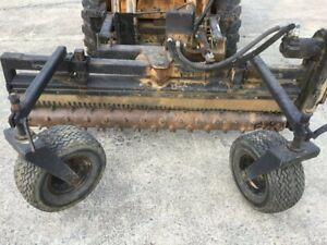 Harley Rake 71 Skid Steer Quick Connect Attachment