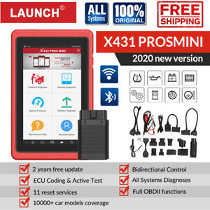 Launch X431 Pros Mini Scanpad Auto Diagnostic Scanner Tool Tablet Global V V