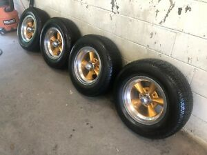 Vintage American Racing Wheels And Bf Goodrich Tires With 95 Tread Life