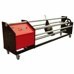 63 Vinyl Film Precisely Roll Cutting Slitter Machine 1600mm Banner Slitter