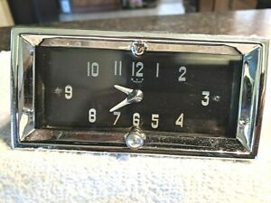 Working 1950 Early 1951 1952 Cadillac Electric Dash Clock Guaranty Works 30 Day