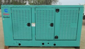 100 Kw Onan Ford Natural Gas Or Propane Generator Genset Load Bank Tested