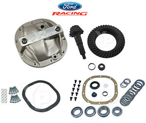 1986 2014 Mustang 8 8 3 55 Ring Pinion Axle Girdle Cover Installation Kit
