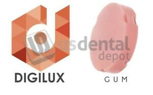 Digilux Pmma Disc Zirkonzahn 95 X 25mm Gum Pink Medium 419994