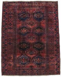 Vintage Tribal Style Lori 5 5x7 Hand Knotted Rug Oriental Home D Cor Carpet