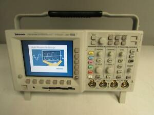 Tektronix Tds3054b Digital Oscilloscope 500 Mhz 4 Channel 5 Gs s W Tds3gv