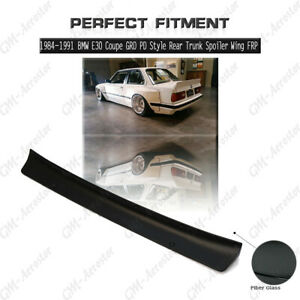 Frp Greddy Pd Rb Style Rear Trunk Spoiler Wing For 84 91 Bmw E30 Coupe 2d