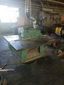 Mattison 202 Straight Line Wood Rip Saw 15hp