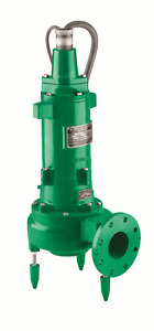 Myers New 4v 10m6 23 1hp 1150 Rpm Solids Handling Pump