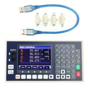 4 Axis Cnc Controller Lcd Usb G Code Spindle Control For Servo Stepper Motor