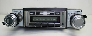 1970 1972 Chevy Impala Radio Am Fm Usa 230 Custom Autosound Aux Input Mp3