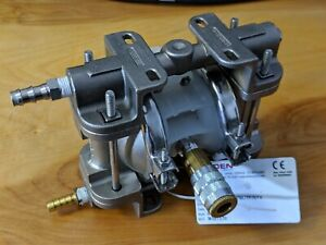Wilden P 025 25 Pro flo Air operated Double diaphragm Pump Stainless Npt Ptfe