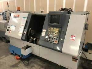 Mazak Sqt250ms Cnc Lathe Live Tooling 2 Spindles Bar Feed Parts Cather