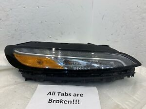 2014 2015 2016 Jeep Cherokee Oem Daytime Running Light Passenger Right Rh 14 16