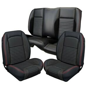 1967 Ford Mustang Convertible Sport R Seat Covers Kit By Tmi Products Full Set