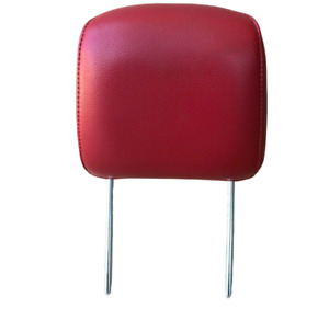 2005 2006 2007 2008 2009 Ford Mustang Gt Front Seat Head Rest Red Leather Oem