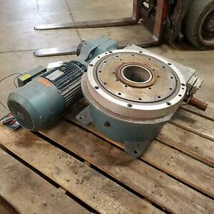 Camco 1305rdm3h48 330 Index Drive Table Sew Kh77dv112m8 4bmg8hr Motor Used