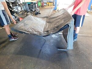 1997 1998 1999 2000 2001 2002 Jeep Wrangler Roof Soft Top Frame Cover Complete