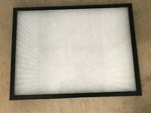 Case Lot 12 Glass Top Foam Fill Compartments Display Case 12x16x3 4 Riker Box