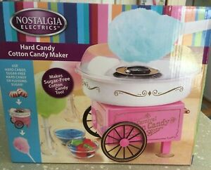 Nostalgia Electrics Pcm305 Hard Sugar free Candy Cotton Candy Maker New