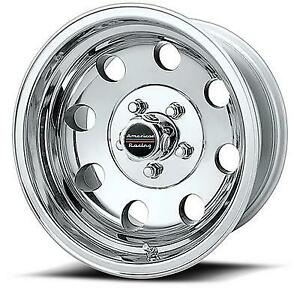 American Racing Baja 15x10 Wheel With 5 On 5 5 Bolt Pattern Polished