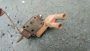 Farmall 300 400 350 450 460 560 Tractor Ih Hydraulic Valve Port Block