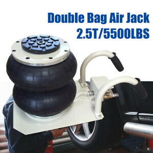 Double Bag Air Jack Pneumatic Jack 5500lbs Quick Lift 2 5 Ton Compressed Air