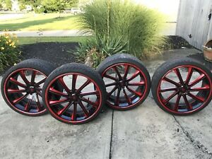 Rims And Tires 315 25zr22 245 35zr22