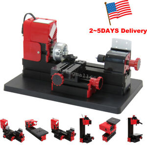 6 Kit Tool Jig saw Drilling Sanding Wood turning Lathe Milling Metal Lath Usps