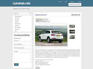 Classified Website Clean Responsive Free Hosting Installation