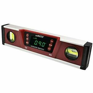 7210 Accumaster Pro Digital Torpedo Level And Protractor 10 quot Inch Neodymium