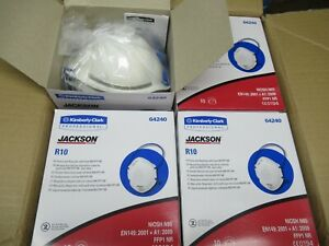 Jackson Safety R10 N95 Particulate Respirator With Single Valve Blue Case Of 80