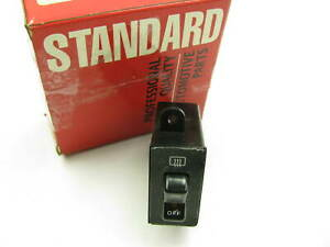 Standard Motor Products Ds430 Rear Window Back Glass Defroster Switch