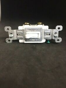 Legrand Pass Seymour 15 amp White Framed Toggle Switch 417061 Free Shipping