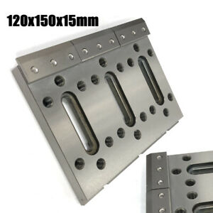 1pc Wire Edm Fixture Board Stainless Jig Tool Fit Clamping And Leveling Silver