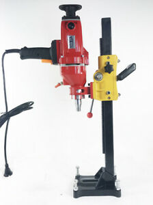 220v New Diamond Core Drill Concrete Machine With Stand Engineering Building Ss