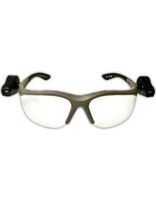 3m Light Vision 2 Protective Eyewear W Grey Frame And Clear Anti fog Lens 10pr