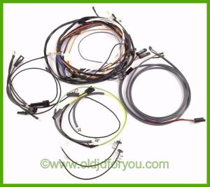 Ar21125r John Deere 730 Diesel Wiring Harness Electric Start Easy To Install