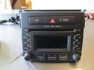 Grd825 Radio Cd Mp3 Sirius Tuner Receiver 2012 Kia Soul 2 0 961702k110