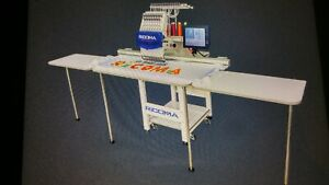 Ricoma Embroidery Machine 15 Needle W 7 Touch Screen 48 X 14 Hoop table