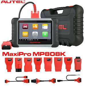 Maxipro Mp808k Obd2 Auto Scan Tools Throttle Seat Engine Transmission Oil Reset