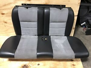 2003 2004 Ford Mustang Svt Cobra Rear Seats Coupe 03 04 99 04 Leather Alcantara