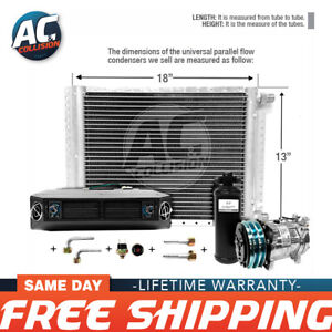 Ac Kit Universal Evaporator Underdash Unit Compressor And Condenser 13 X 18