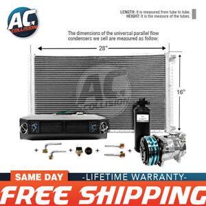 Ac Kit Universal Evaporator Underdash Unit Compressor And Condenser 16 X 28