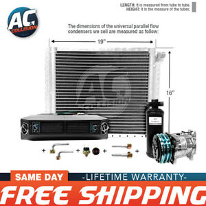 Ac Kit Universal Evaporator Underdash Unit Compressor And Condenser 16 X 19